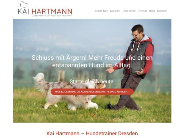 Homepage für Hundetrainer
